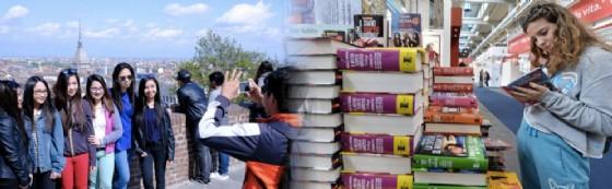 Sale l'attesa per il Salone del Libro: boom di turisti a Torino (© ANSA)