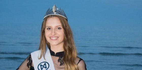 Chiara Davanzo, la giovane udinese è diventata Miss Mondo Fvg (© Miss Mondo Friuli Venezia Giulia | Facebook)