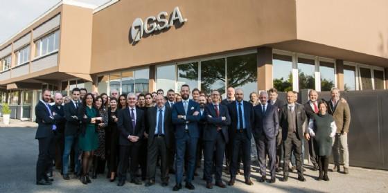 Il personale di G.S.A. della Direzione Generale presso la sede di Tavagnacco (Udine) (© Gsa)