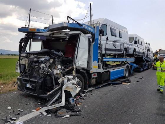 Gravissimo incidente in corso Allamano (© ANSA)