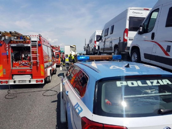 Gravissimo incidente in corso Allamano