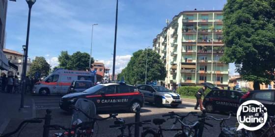Precipita dal quarto piano del palazzo di piazzale Cella (© Diario di Udine)