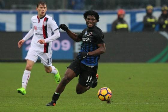 Franck Kessie, centrocampista dell'Atalanta