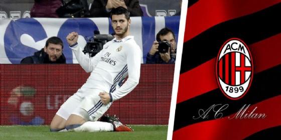 L'attaccante del Real Madrid Alvaro Morata
