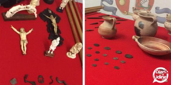 Sequestrati oltre 1.500 beni culturali per un valore di svariate migliaia di euro (© Diario di Udine)