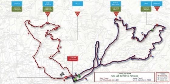 La 25^Corsa per Haiti si avvicina: il percorso e le deviazioni stradali