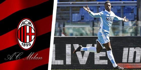 L'attaccante della Lazio Keita (© Ansa)
