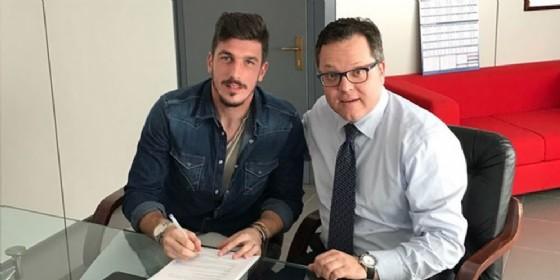 Udinese Calcio e Simone Scuffet annunciano con reciproca soddisfazione di aver prolungato il contratto (© Udinese Calcio)