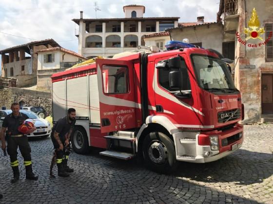 L'arrivo dei soccorritori
