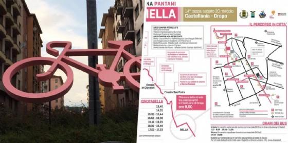 Biella e Biellese in rosa, sabato (© Comune di Biella)