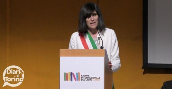 Il discorso della sindaca Chiara Appendino (© Diario di Torino)