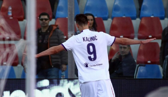 Nikola Kalinic, attaccante della Fiorentina e della nazionale croata