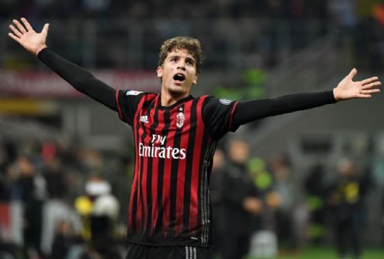 Il centrocampista del Milan Locatelli (© Ansa)