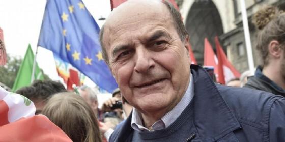 L'ex segretario Pd Pierluigi Bersani