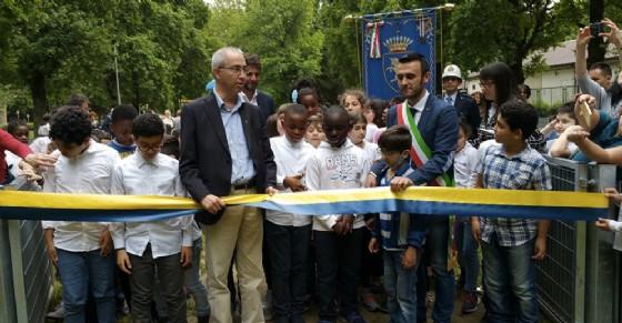 Inaugurato la nuova area giochi (© Comune di Torino)