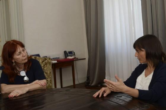 La presidente della Regione, Debora Serracchiani e la presidente del Tar, Oria Settesoldi (© Regione Friuli Venezia Giulia)