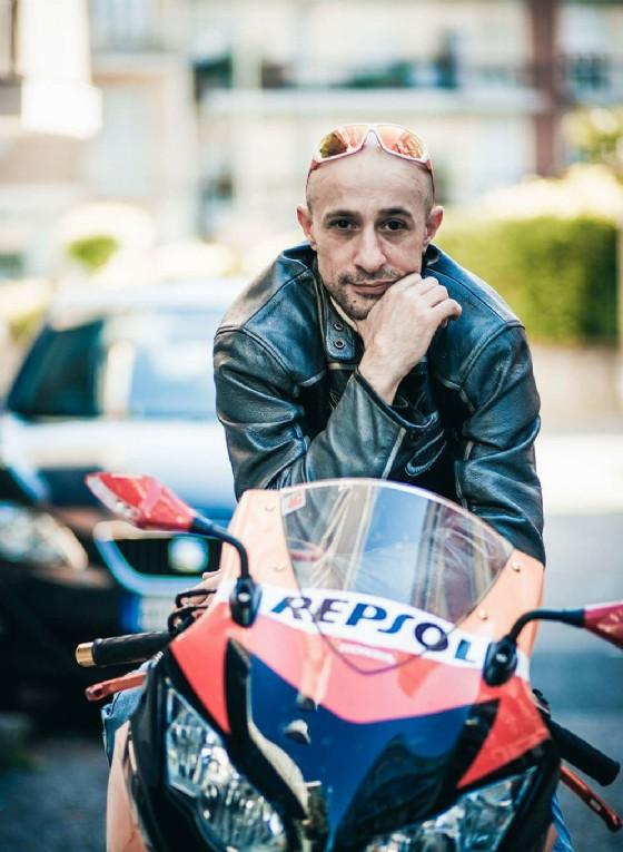 Carlo Fedele era un grande appassionato di moto
