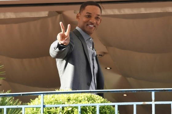 "Hollywood star Will Smith says he is looking forward to a ""good jury scandal"" at Cannes"