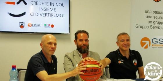 """Pedone fissa gli obiettivi: """"Play off e Carnera pieno"""" (© Diario di Udine)"""