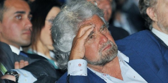 Il leader del Movimento Cinque Stelle Beppe Grillo