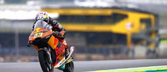 Niccolò Antonelli in azione nelle prove libere a Le Mans