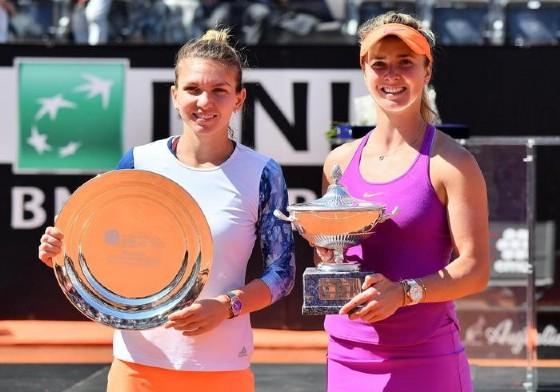 Simona Halep e Elina Svitolina