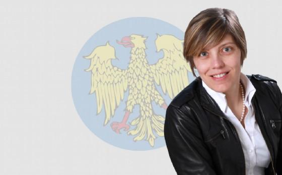 Barbara Zilli, consigliera regionale della Lega Nord, si è espressa contrariamente rispetto all'approvazione da parte della maggioranza del piano triennale per l'immigrazione (© Regione Friuli Venezia Giulia)