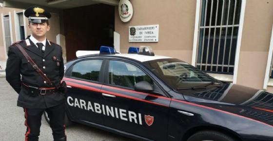 Il Maresciallo che ha salvato l'aspirante suicida (© Carabinieri)