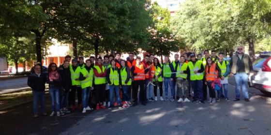 Gli studenti che hanno partecipato al progetto (© Comune di Biella)