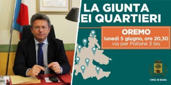 Marco Cavicchioli, sindaco della città di Biella (© Diario di Biella)