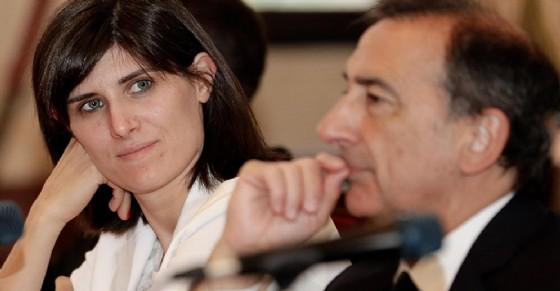 Chiara Appendino e Giuseppe Sala