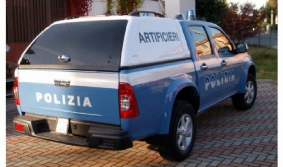 Artificieri provenienti da Torino, in un precedente intervento nel Biellese