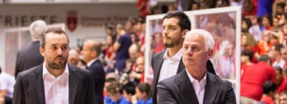 Il coach di Alma Trieste, Eugenio Dalmasson (© Macovaz)