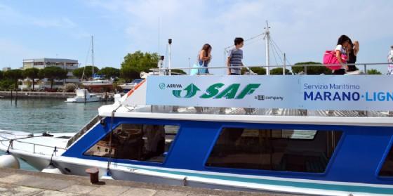 Estate: torna il collegamento per Lignano con la motonave Saf
