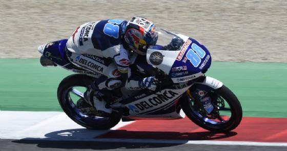 Moto3, la prima di Migno. Di Giannantonio gran 2°