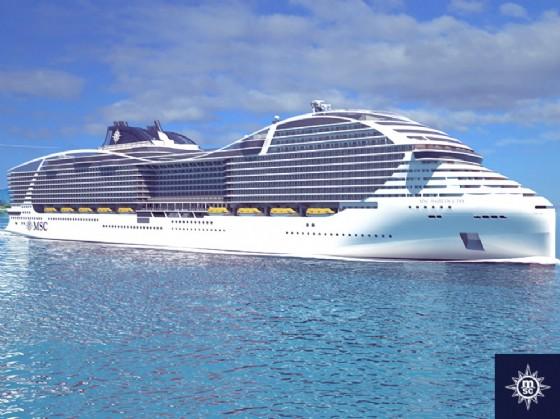 Meraviglia, la nuova ammiraglia di MSC Crociere vanta già un record