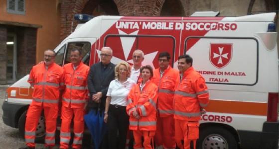 Alcuni storici volontari (© Ordine di Malta - Biella)