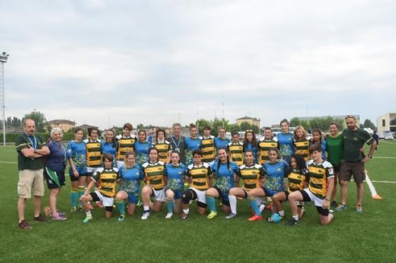 Le due squadre biellese (Socco) (© Biella Rugby)