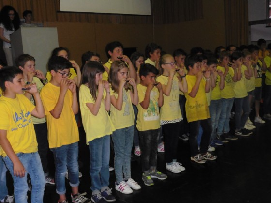 Esibizione dei ragazzi (© Diario di Biella)