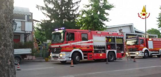 Incendio in una pizzeria di San Donà di Piave