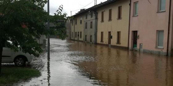 Lavariano, in via Pozzuolo