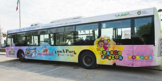 """Ecco """"A2 - La linea del divertimento"""", il bus pensato per i momenti di svago (© Saf)"""
