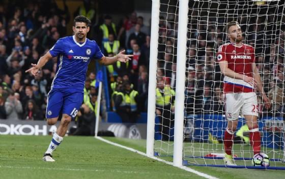 Chelsea: Conte scarica Diego Costa con un sms