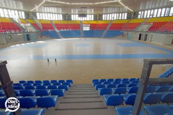 Il rinnovato Carnera pronto a ospitare le Finali Under 18 Elite (© Diario di Udine)