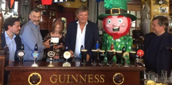 La Guinness premia il locale The Black Stuff di Udine (© Diario di Udine)