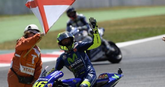 Rossi: Sarà una gara dura, la Yamaha ha problemi di gomme