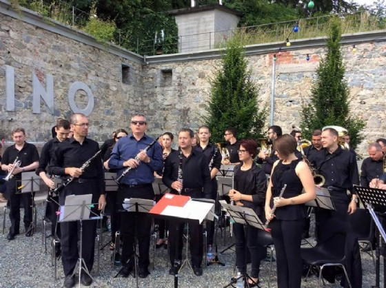 Un' esibizione dell'orchestra di fiati dell' associazione musicale Euphoria (© Associazione musicale Euphoria)