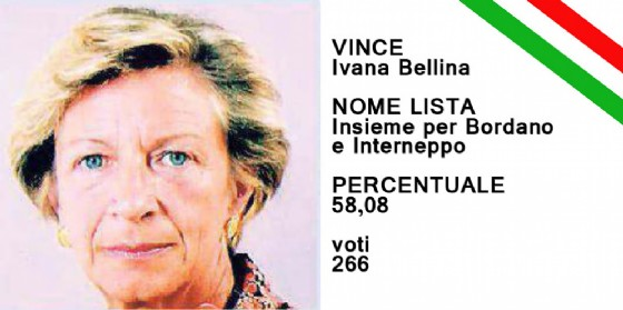 Ivana Bellina il nuovo sindaco di Bordano (© Diario di Udine)