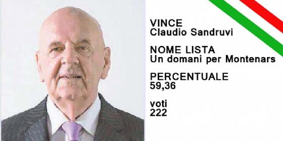 Confermato il sindaco uscente Sandruvi