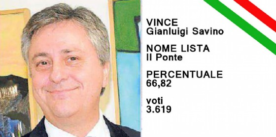 Gianluigi Savino si conferma sindaco di Cervignano (© Diario di Udine)
